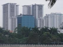 Cho thuê chung cư 165 Thái Hà 105m nội thất cơ bản giá thuê 11 triệu