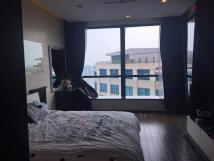 Cho thuê CHCC Vincom Bà Triệu, tầng 19, 132m2, 2 phòng ngủ, nội thất đầy đủ 23tr/tháng