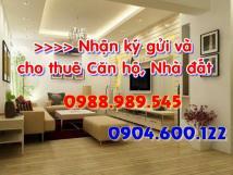Cho thuê căn hộ chung cư cao cấp 15 - 17 Ngọc Khánh