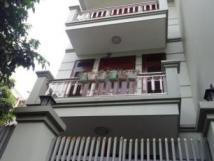 Cho thuê nhà ngõ 123 Hoàng Quốc Việt,Nghĩa Đô,Cầu Giấy,Hà Nội.DT 100m,4 tầng,MT 6m.Giá 24tr/th
