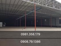 Cho thuê kho xưởng 400m2 - 762m2 tại KĐT XaLa Hà Đông.