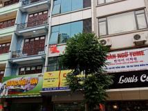Cho thuê nhà MT phố Trần Đăng Ninh, Cầu Giấy, DT 65m2, 7 tầng. Giá 40 tr/th