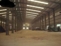 Cho thuê kho xưởng DT 2200m2 KCN Thạch Thất, Quốc Oai, Hà Nội