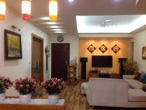 Cho thuê gấp CHCC tại tòa 27 Huỳnh Thúc Kháng, 127m2, 3PN, full đồ, 13.5tr/th