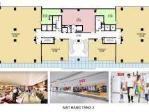 Cho thuê mặt bằng làm VP, gym, nhà hàng, chung cư One 18 Ngọc Lâm, Long Biên, HN