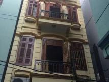 Cho thuê nhà riêng mặt ngõ đường Láng ,dt 65m2x4 tầng