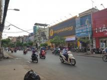 Cho thuê nhà mặt phố Khâm Thiên, DT 60m2, mt 4,5m, giá 50 triệu/tháng