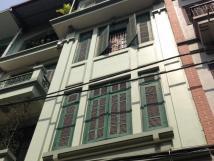 Cho thuê nhà mặt phố Nguyễn Văn Cừ, Long Biên, HN, DT 60m2, 3 tầng, giá 25 tr/th