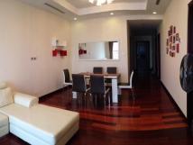 Cho thuê chung cư cao cấp Golden Land, 90m2, 2PN, full nội thất, giá chỉ 11 tr/tháng