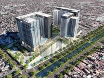 Cho thuê sàn thương mại chung cư Hinode City 201 Minh Khai, Hai Bà Trưng, Hà Nội