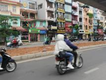 Cho thuê nhà mặt phố Trần Đăng Ninh, DT 86m2 X 5T, MT 14m, giá 140 tr/tháng