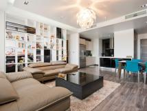 Cho thuê căn hộ chung cư Vinhomes Nguyễn Chí Thanh, 127m2, nội thất nhập khẩu (Đồ sắm để ở)
