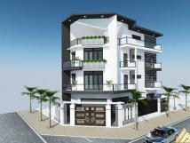 Cho thuê shophouse tại Gelexia Tam Trinh, căn góc 2 mặt tiền 35m, 35tr/tháng, 5 tầng