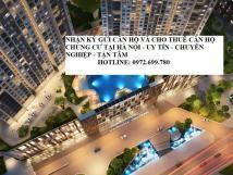 Cho thuê gấp căn hộ chung cư Sun Square,Lê Đức Thọ 3PN đồ cơ bản 12 tr/th. Lh 0972 699 780