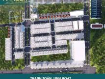Bán 2 lô góc đất QL 51 thị xã Phú Mỹ - BRVT, dự án Harbor Center, 5x18, chỉ 10tr/m2