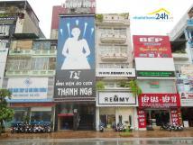 Cho thuê nhà MP Xã Đàn, DT 80m2 x 3 mặt tiền 5m.