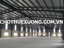 Cho thuê kho xưởng tại Đông anh Hà Nội gần cầu Nhật Tân DT 315m2 giá tốt