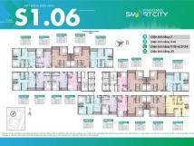 Bán căn hộ 2pn 59mVinhomes Smart City Tây Mỗ - Đại Mỗ tầng đẹp, view đẹp