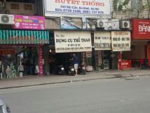 Cho thuê cửa hàng mặt phố Tôn Thất Tùng: 1 tầng riêng biệt, mặt tiền 4.5m.