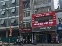 Cho thuê nhà mặt phố Trần Hưng Đạo thuận tiện kinh doanh.