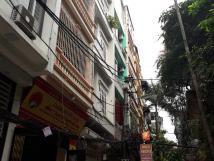 Cho thuê nhà nguyên căn phố Nguyễn Chí Thanh, 70m2x4T, thông sàn.