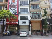 Cho thuê nhà mặt phố Chùa Láng,Đống Đa, 60 m2, 3 tầng,Mt 6m, giá 38 tr/th