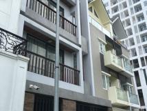 Cho thuê nhà liền kề tại KĐT Nam Trung Yên   , Cầu Giấy. DT: 95 m * 4,5 tầng. Thông sàn .
