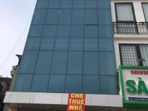 Cho thuê nhà phân lô Trung Yên- Cầu Giấy-Hà Nội. DT 80m, 6 tầng,có thang máy, điều hoà.Giá 35 tr/t