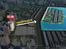S1.09 Vị trí trung tâm, cập nhật quỹ căn mới, giá tốt và view trực diện hồ 24,5ha VH Ocean Park.