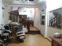 Cho thuê căn nhà 4 tầng tại số 20 ngõ 262/7 đường Khương Đình, Thanh Xuân, Hà Nội.