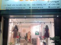 Cần sang nhượng cửa hàng thời trang (cho thuê đồ đi tiệc/sự kiện) tại số 16 Phố Nguyễn Mậu Tài
