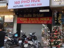 Cho thuê cửa hàng riêng biệt số 9 phố Đại Cồ Việt, Hai Bà Trưng, Hà Nội.