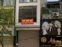 Chính chủ cần cho thuê nhà mặt phố số 3 đường Trần Phú, quận Hà Đông, Hà Nội