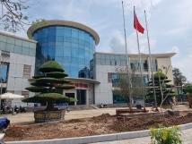 Cho thuê tòa nhà trung tâm thương mại xã Tiền Phong, Mê Linh, Hà Nội gần khu CN Quang Minh 3000m2