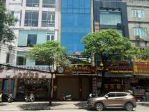 Cho thuê nhà mặt đường Hồ Tùng Mậu gần cầu vượt Mai Dịch, 60m2 x 6T, thông sàn thang máy KD sầm uất