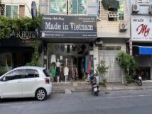 Chính chủ nhượng cửa hàng quần áo Made in Vietnam phố Đặng Văn Ngữ, 0934639898